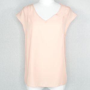 Stitch Fix Kaileigh Mishler V-neck Top Pink M